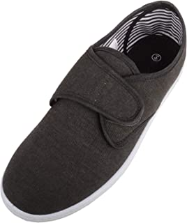 Absolute Footwear Mens Soft Canvas Casual Summer/Holiday Loafer/Trainers/Pumps/Shoes