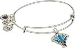Alex and Ani Blue Lotus Bangle