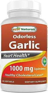 Best Naturals Odorless Garlic 1000 mg 240 Softgels