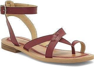 Lucky Brand Women's AVONNA Flat Sandal, Rhodo, 6.5