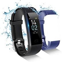 Toplus Fitness Tracker, Built-in GPS, Heart Rate, Sleep, Blood Pressure, Temperature Monitor, Male and Female Pedometer Watch, 16 Sports Modes ( Compatible iPhone Android Phones)