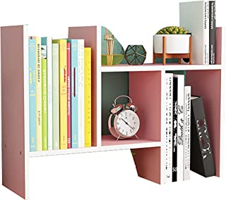 MKMKT Bureau Petite étagère Bureau étagère bibliothèque Combinaison Multifonctionnel étudiant casier Armoire de Rangement ...