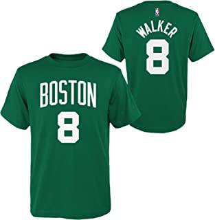 Outerstuff Kemba Walker Boston Celtics #8 Youth Player Name & Number T-Shirt Blue