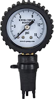 k pump kwik check pressure gauge