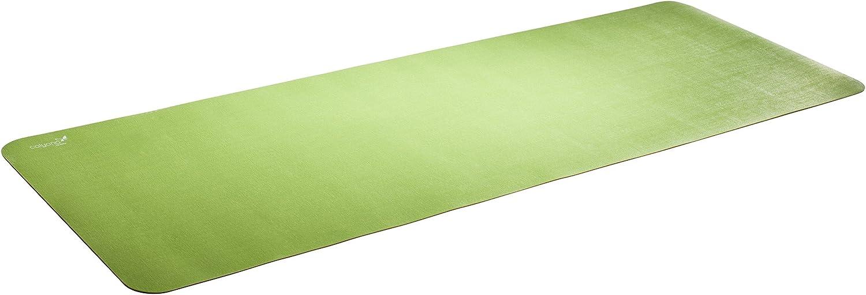 Calyana Prime Yoga Mat   Green