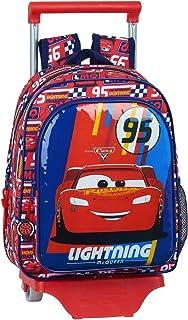 612011020 Mochila pequeña Ruedas, Carro, Trolley Cars, Multicolor