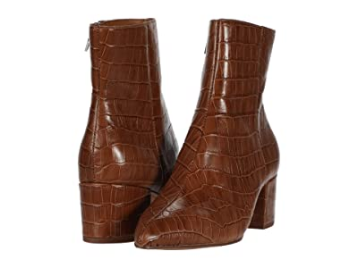 Dolce Vita Bel (Cognac Croco Print Leather) Women