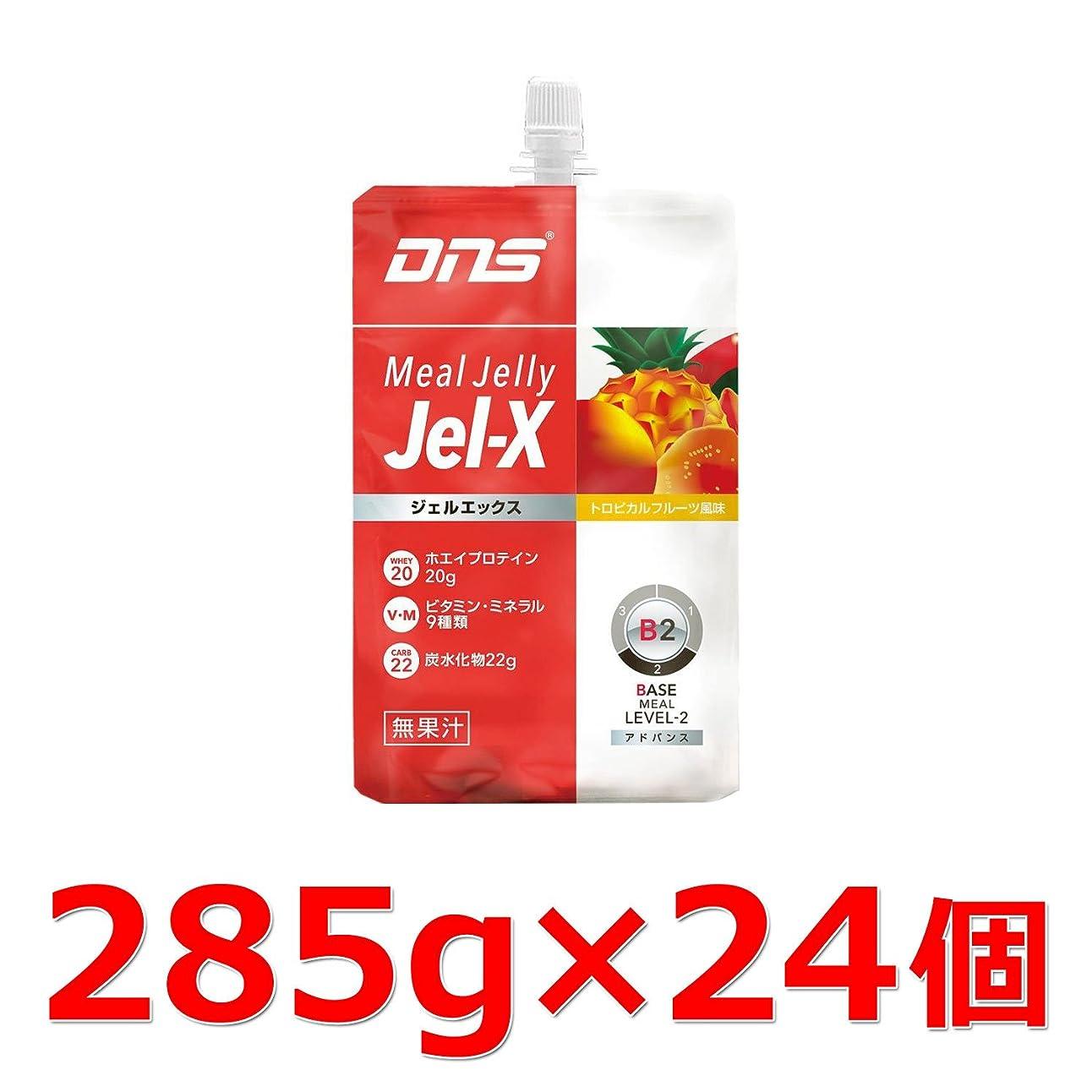 元に戻す言語光景DNS Jel-X ジェルエックス トロピカルフルーツ風味 1箱:285g×24個