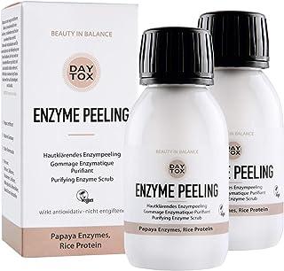 DAYTOX - Enzyme peeling - huidverhelderende enzympeeling voor het gezicht, exfoliator met ananas en papaya - geschikt voor...