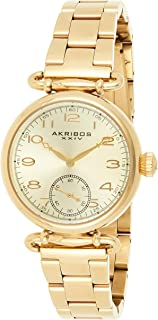 Akribos XXIV Women's Ador Analogue Display Japanese Quartz Watch with Stainless Steel Bracelet