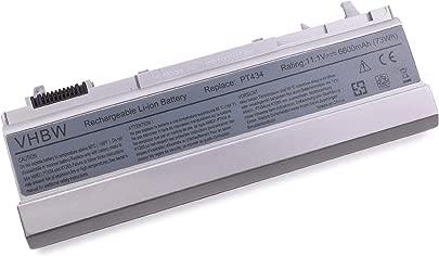 vhbw Akku passend f r Dell Latitude 6400 ATG  E6400  E6400 ATG  E6400 XFR  E6410  E6410 ATG  E6500 Notebook  6600mAh  11 1V  Li-Ion  Silbergrau