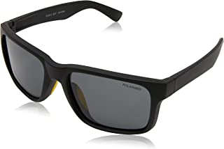 CANCER COUNCIL Men's Eagle Bay, Black Rubber / Yellow Rubber