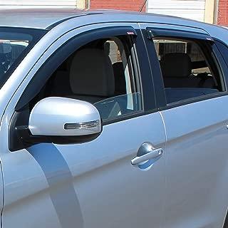 Westin Automotive Products 72-66480 Smoke Slim Wind Deflector, 4 Piece
