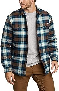 Men's Eddie's Favorite Flannel Insulated Shirt Jacket