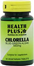 Health Plus Chlorella 550mg Blue-green Algae Body Shape Plant Supplement – 60 Tablets