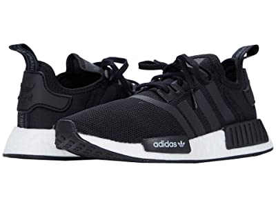 adidas Originals Kids NMD_R1 J (Big Kid) (Core Black/Core Black/Footwear White) Kids Shoes