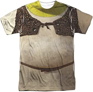 Animated Family Comedy Movie Ogre Costume Adult Front Print Tshirt