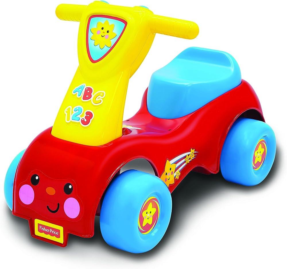 Mattel fisher-price,push and scoot,bicicletta per bambini 8338
