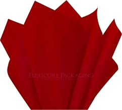 """Scarlet RED Tissue Gift Paper 15"""" x 20"""" - 100 Sheets"""