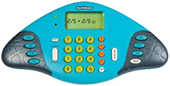Educational Insights MathShark: Master Math Skills! Electronic Game, Grades 1+, Ages 6 and up.