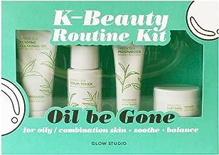 Glow Studio Oil Be Gone K-Beauty Routine Kit 5.2oz , pack of 1
