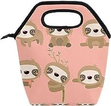 Przenośna torba na lunch box o dużej pojemności, do pracy w biurze, w szkole, na piknik, torba na posiłki leniwe zwierzęta