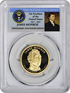 2008 S James Monroe Presidential Dollar PR70DCAM PCGS