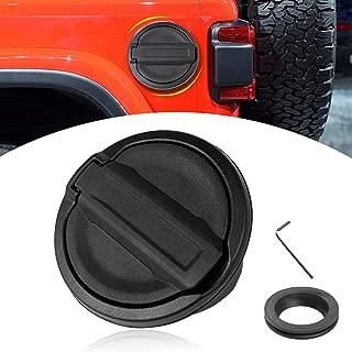 Fuel Filler Door Cover Gas Tank Cap For 2018 Jeep Wrangler JL Unlimited 2/4 Door