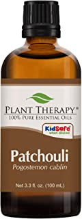 Plant Therapy Patchouli Essential Oil 100% Pure, Undiluted, Natural Aromatherapy, Therapeutic Grade 100 mL (3.3 oz)