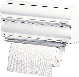 comprar comparacion Rayen Portarrollos Triple de Cocina, Color Blanco, 38x10x25,5