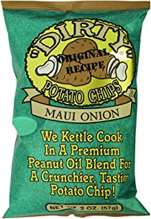Dirty Kettle Chips, Maui Onion, 2 oz., 25 Count
