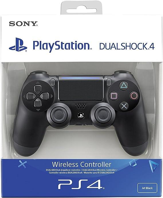 Sony Dualshock 4 Gamepad Playstation 4 Schwarz Zubehor Fur Videospiele Amazon De Games