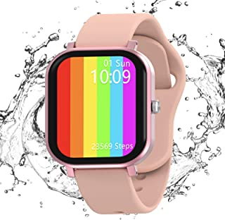 Smartwatch, JAMSWALL Reloj Inteligente Mujer Hombre para Android IOS, Smartwatch Impermeable IP67 con Pantalla de 1,75 Pul...