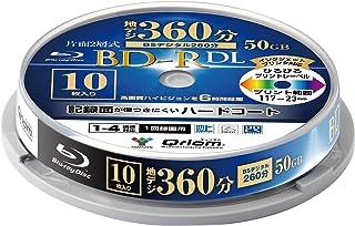 山善 キュリオム BD-R (1回録画用) (片面2層/1-4倍速/10枚スピンドル) 50GB BD-R10DLSP