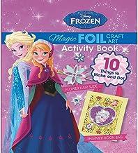Disney Frozen Magic Foil Craft Art (Book & Kit)