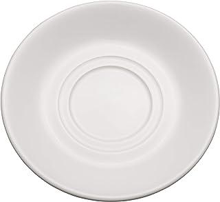 Chef Expressions 5 – 1 / 2 インチ ラウンドダブルウェルソーサー、レストラン品質、ビトリファイドブライトホワイト磁器(12ケース)