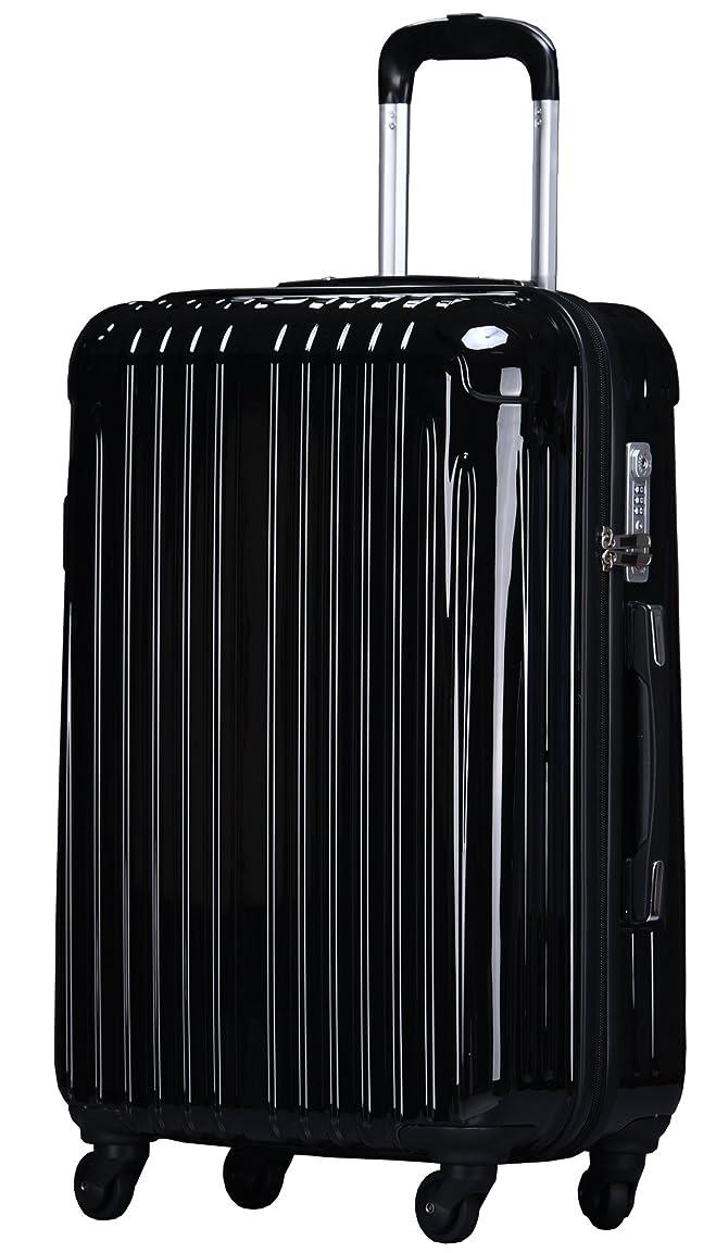 きしむ煙突休戦ラッキーパンダ スーツケース TY001 ハード 超軽量 TSAロック ファスナータイプ 機内持込
