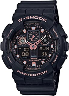 G-Shock Black Rose Gold Analog Digital Watch GA100GBX-1A4