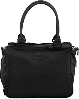 Ju-Ju-Be Onyx Collection Be Classy Structured Handbag Diaper Bag, Black Out