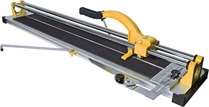QEP 10630Q 24-Inch Manual Tile Cutter with Tungsten Carbide Scoring Wheel for Porcelain..