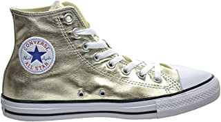 gold trainers for women