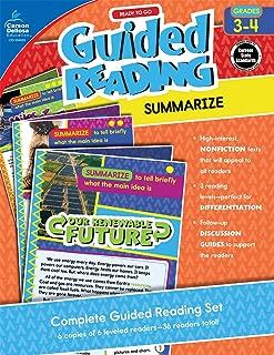 Ready to Go Guided Reading: Summarize, Grades 3 - 4