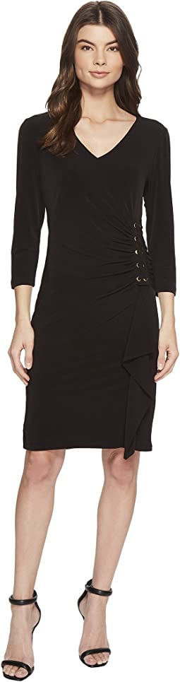 Calvin klein dresses black long sleeve