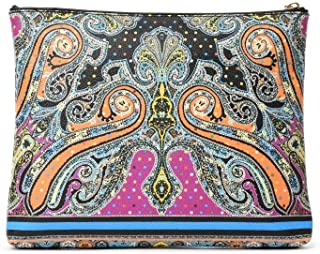 Luxury Fashion | Etro Womens 1E38027891 Multicolor Document Holder | Spring Summer 19