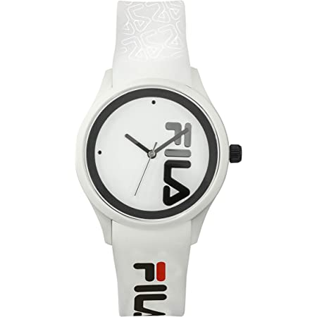 FILA Watches for Women - Womens Watches - Analog Watch - Cool Watches for Men - Mens Wrist Watch - Running Watch - Unisex Watch - Fila Watches for Men - White Fila Watch