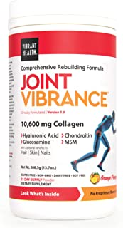 Vibrant Health, Joint Vibrance, Comprehensive Rebuilding Formula with Collagen, Chondroitin, Glucosamine and MSM, Non-GMO,...