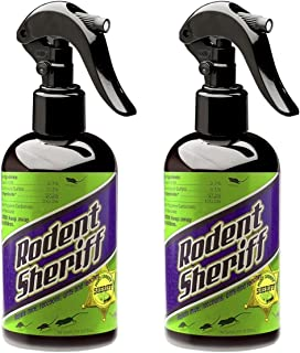 RODENT SHERIFF Pest Control Spray - Ultra-Pure Mint Spray - Repels Mice, Raccoons, Ants, and More - Made in USA (2)