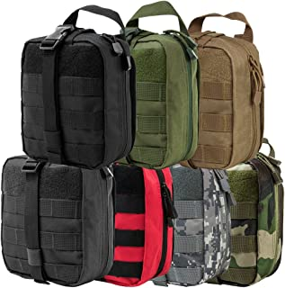 ATG Tactical MOLLE PALS EMT Medical First Aid Utility Organize Supplies Pouch Rip-Away
