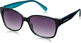 Fastrack Springers Rectangular Sunglasses (P289BK1F|54|Purple Gradient)