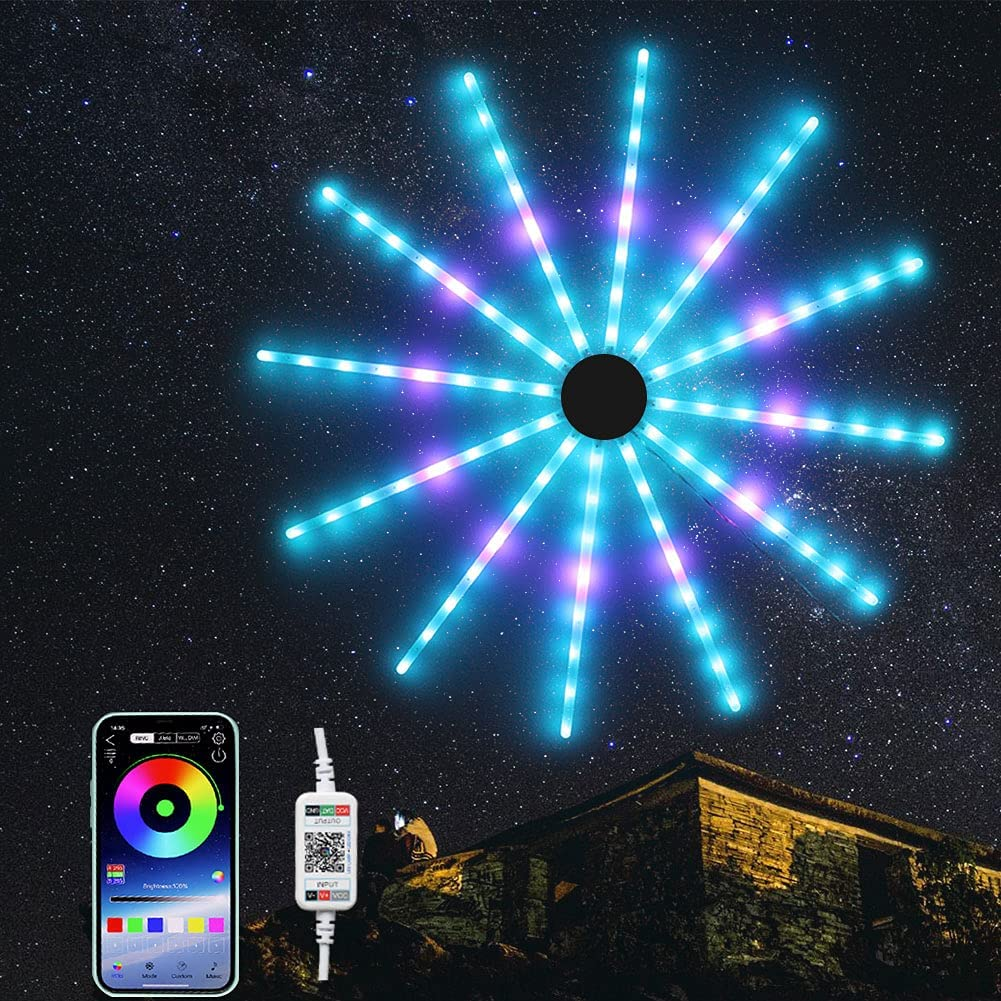 Arcwares App-Controlled RGB LED Wall Lights  $24.99 Coupon
